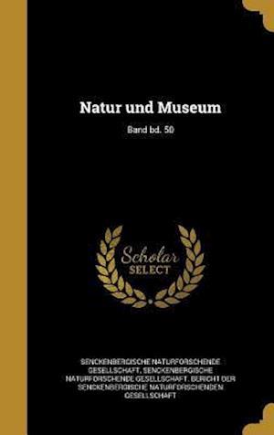 Bog, hardback Natur Und Museum; Band Bd. 50