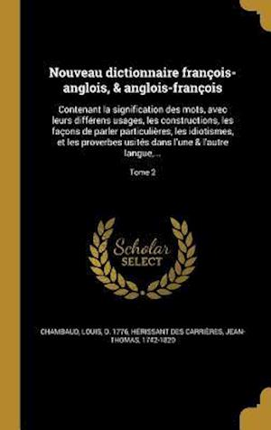 Bog, hardback Nouveau Dictionnaire Francois-Anglois, & Anglois-Francois
