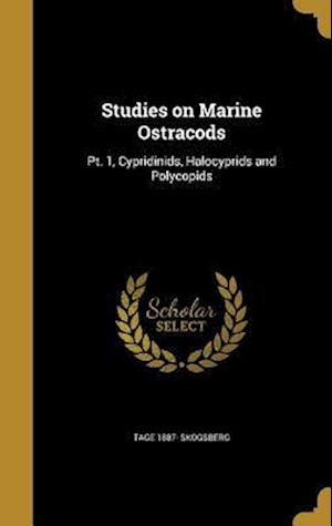 Bog, hardback Studies on Marine Ostracods af Tage 1887- Skogsberg