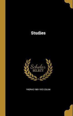 Bog, hardback Studies af Padraic 1881-1972 Colum