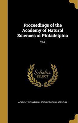 Bog, hardback Proceedings of the Academy of Natural Sciences of Philadelphia; V.53