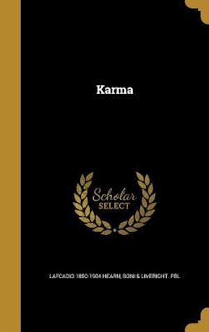 Bog, hardback Karma af Lafcadio 1850-1904 Hearn