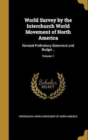 Bog, hardback World Survey by the Interchurch World Movement of North America
