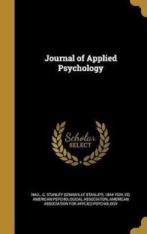 Bog, hardback Journal of Applied Psychology