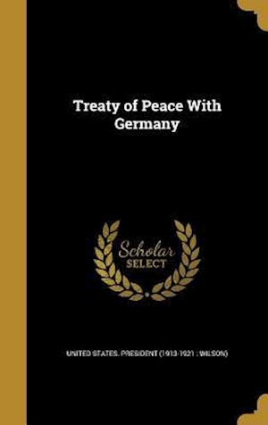 Bog, hardback Treaty of Peace with Germany