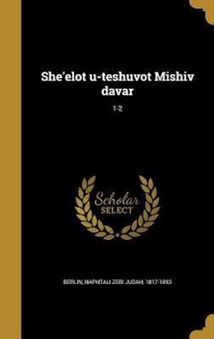 Bog, hardback She'elot U-Teshuvot Mishiv Davar; 1-2