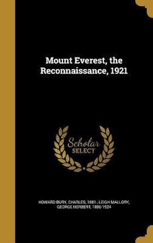 Bog, hardback Mount Everest, the Reconnaissance, 1921