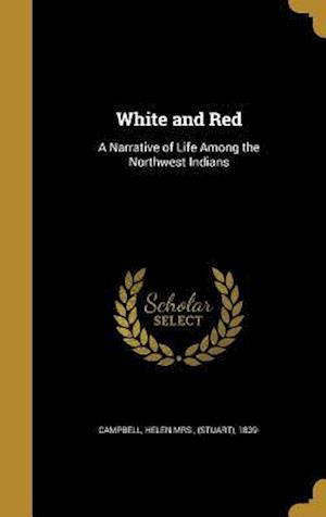 Bog, hardback White and Red