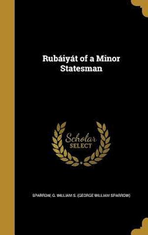 Bog, hardback Rubaiyat of a Minor Statesman