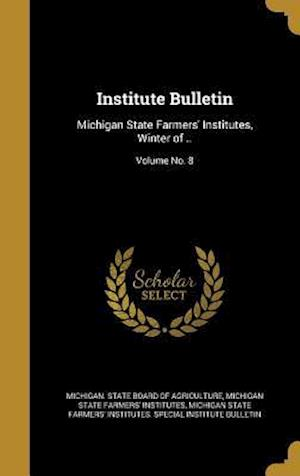 Bog, hardback Institute Bulletin