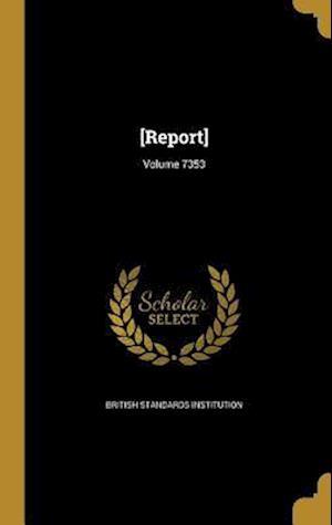 Bog, hardback [Report]; Volume 7353