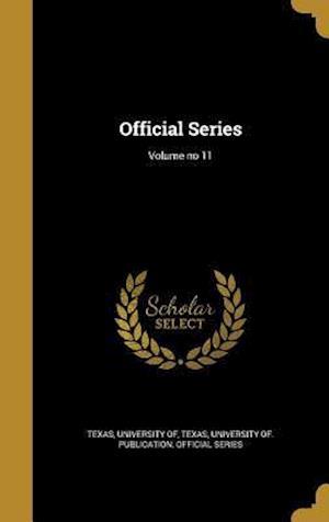 Bog, hardback Official Series; Volume No 11