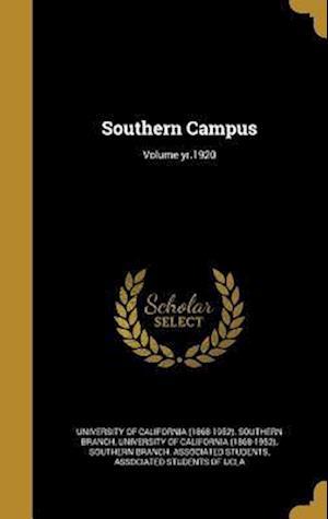 Bog, hardback Southern Campus; Volume Yr.1920