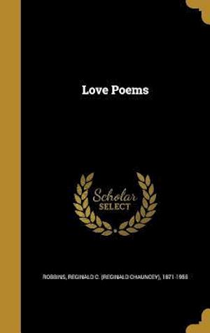 Bog, hardback Love Poems