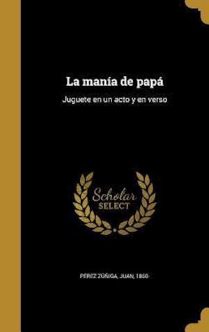 Bog, hardback La Mania de Papa