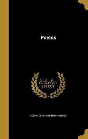 Bog, hardback Poems af Josiah Dean 1816-1892 Canning