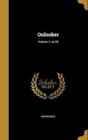 Bog, hardback Onlooker; Volume 1, No.10