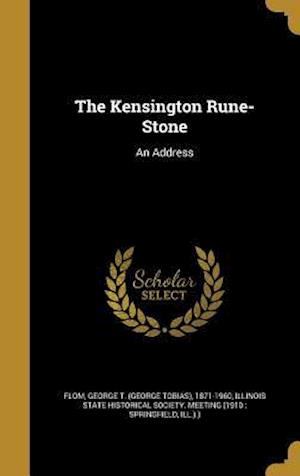 Bog, hardback The Kensington Rune-Stone