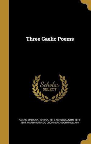 Bog, hardback Three Gaelic Poems