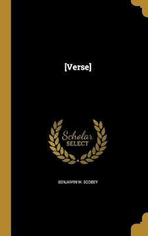 Bog, hardback [Verse] af Benjamin W. Scobey
