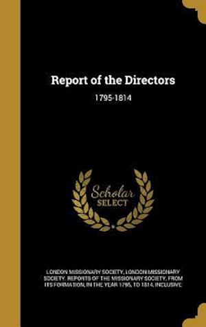 Bog, hardback Report of the Directors