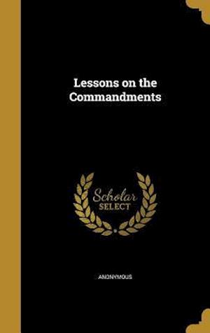 Bog, hardback Lessons on the Commandments