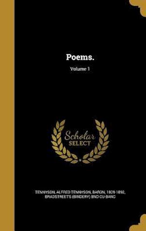 Bog, hardback Poems.; Volume 1