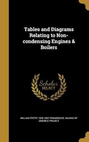 Bog, hardback Tables and Diagrams Relating to Non-Condensing Engines & Boilers af William Pettit 1828-1892 Trowbridge