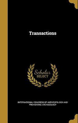 Bog, hardback Transactions