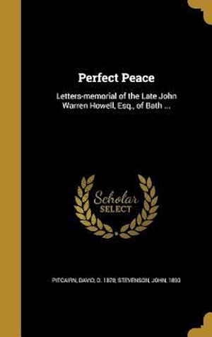 Bog, hardback Perfect Peace