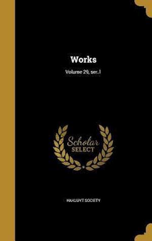 Bog, hardback Works; Volume 29, Ser.1