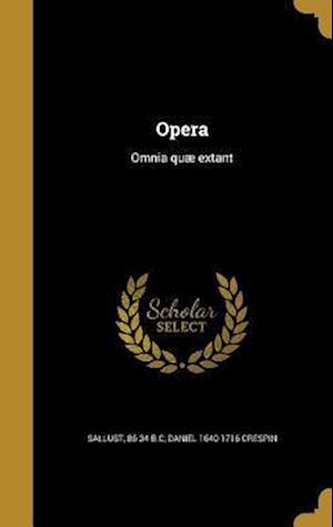 Opera af Daniel 1640-1716 Crespin