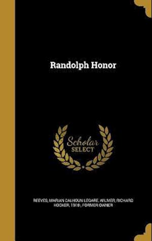 Bog, hardback Randolph Honor