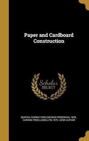 Bog, hardback Paper and Cardboard Construction