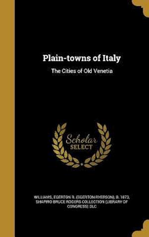 Bog, hardback Plain-Towns of Italy