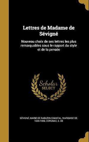 Bog, hardback Lettres de Madame de Sevigne