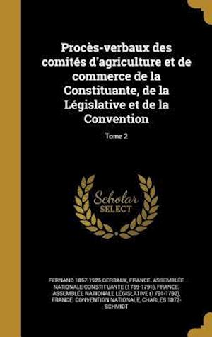 Proces-Verbaux Des Comites D'Agriculture Et de Commerce de La Constituante, de La Legislative Et de La Convention; Tome 2 af Fernand 1857-1925 Gerbaux