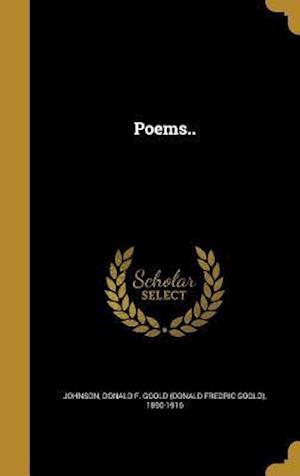 Bog, hardback Poems..