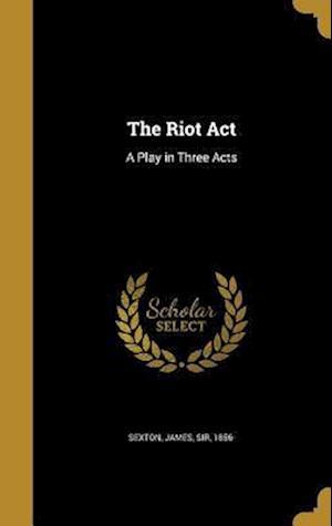 Bog, hardback The Riot ACT