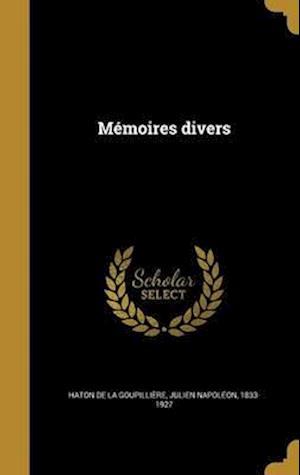 Bog, hardback Memoires Divers