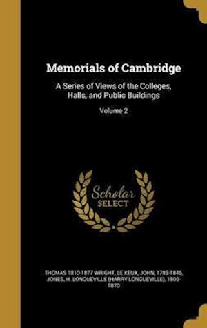 Bog, hardback Memorials of Cambridge af Thomas 1810-1877 Wright