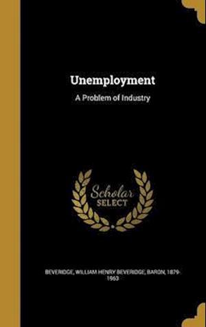 Bog, hardback Unemployment
