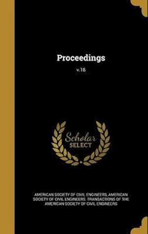 Bog, hardback Proceedings; V.18