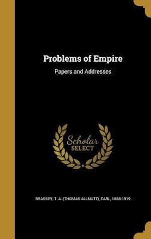 Bog, hardback Problems of Empire