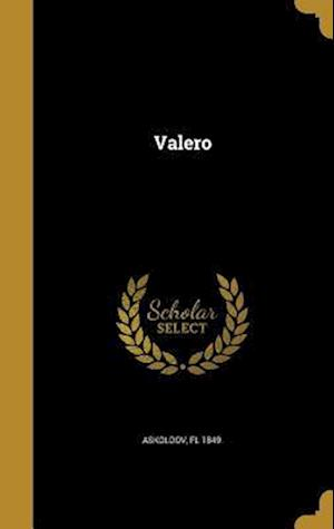 Bog, hardback Valero