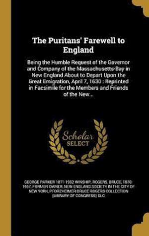 Bog, hardback The Puritans' Farewell to England af George Parker 1871-1952 Winship