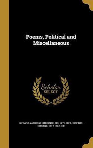 Bog, hardback Poems, Political and Miscellaneous