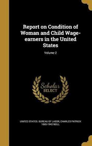 Bog, hardback Report on Condition of Woman and Child Wage-Earners in the United States; Volume 2 af Charles Patrick 1865-1942 Neill