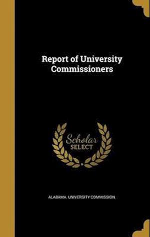 Bog, hardback Report of University Commissioners