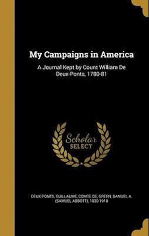 Bog, hardback My Campaigns in America